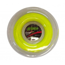 Prince Synthetic Gut Duraflex gelb 200 Meter Rolle