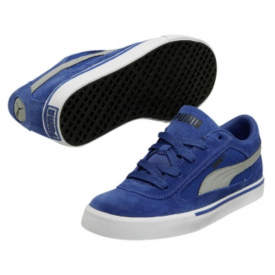 Puma S Evolution blau Sneaker Kinder