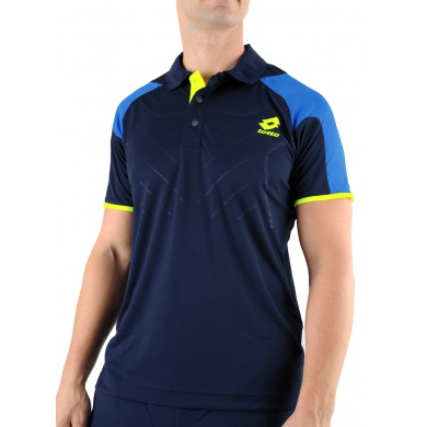 Lotto Polo Matrix Tech navy Herren (Gr��e M+L)