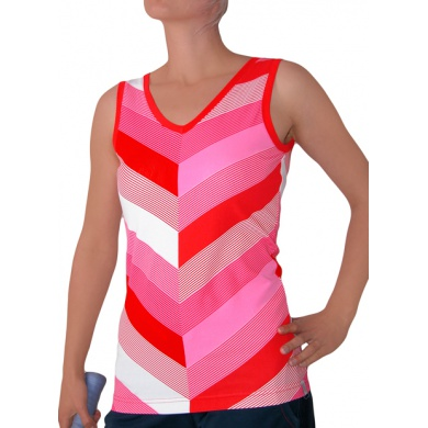 Esprit Tank Stripes 2011 rot Damen