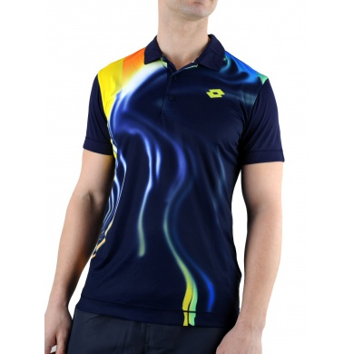 Lotto Polo Blend mulberry Herren