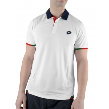 Lotto Polo Lob weiss/tabasco Herren