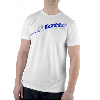 Lotto Tshirt Will PL weiss/atlantic Herren