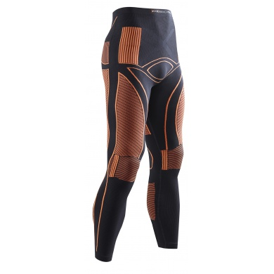 X-Bionic Energy Accumulator Pant long schwarz/orange Herren