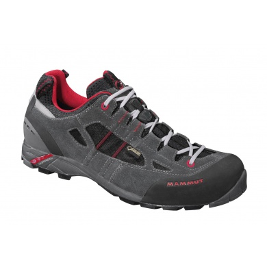 Mammut Redburn Low GTX graphite/fire Outdoorschuhe Herren