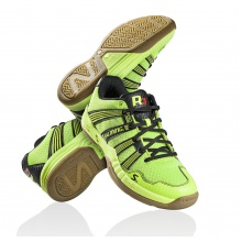 Salming Race R3 2.0 2014 gelb Indoorschuhe Kinder
