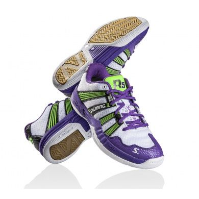Salming Race R5 2.0 2014 weiss/purple Indoorschuhe Damen