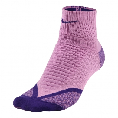 Nike Laufsocke Elite Cushion QTR 2014 pink