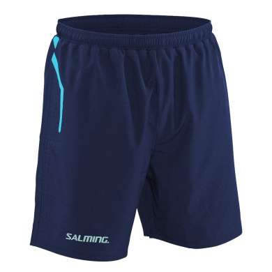 Salming Short Pro Training navy Herren