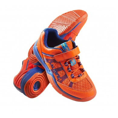 Salming Viper KLETT 2015 orange Indoorschuhe Kinder