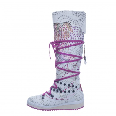 Snoboot Mutant High Braille 2013 weiss Winterschuhe Damen