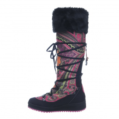 Snoboot Mutant High Tattoo Color 2013 schwarz Winterschuhe Damen