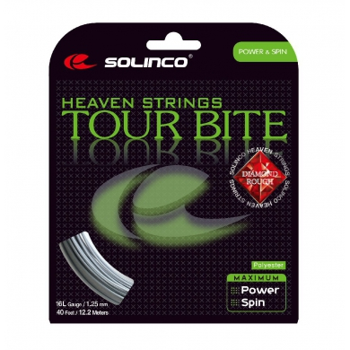 Solinco Tour Bite Diamond Rough Tennissaite