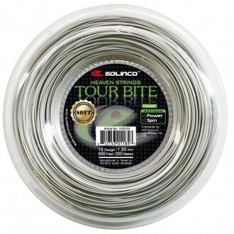Solinco Tour Bite SOFT silber 200 Meter Rolle