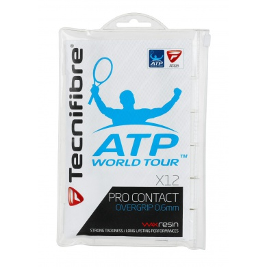 Tecnifibre Pro Contact ATP Overgrip 12er weiss