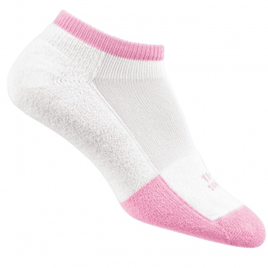 Thorlo Tennissocke Micro Mini thin weiss/pink Damen