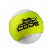 Balls Unlimited Code Green Trainingsball gelb/weiss 60er Beutel