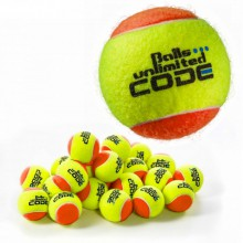 Balls Unlimited Code Blue Trainingsball gelb/orange 60er Beutel