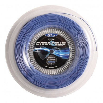 Topspin Cyber Blue blau 220 Meter Rolle