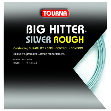 Tourna Big Hitter silver ROUGH Tennissaite