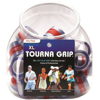 Tourna Grip XL Overgrip 36er Box blau
