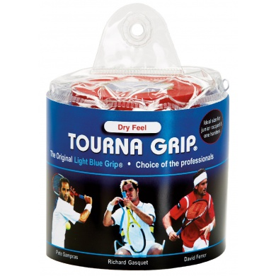 Tourna Grip Standard Overgrip Tour Pack 30er blau
