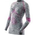 X-Bionic Energy Accumulator Evo Melange Shirt Long Sleeves 2016 grau Damen