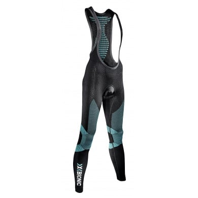 X-Bionic Bike Effektor Power BIB Pant Long schwarz/t�rkis Damen