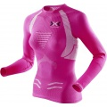 X-Bionic Running The Trick Shirt Longsleeve pink/weiss Damen