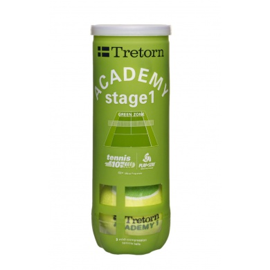 Tretorn Stage 1 green Methodikball gelb/gr�n 3er