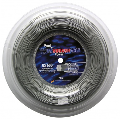 Unsquashable US 600 1.20 silber 200 Meter Rolle