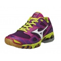 Mizuno Wave Bolt 3 purple Indoorschuhe Damen (Größe 43)