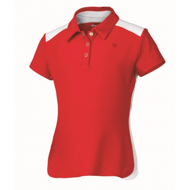 Wilson Polo Performance rot Girls