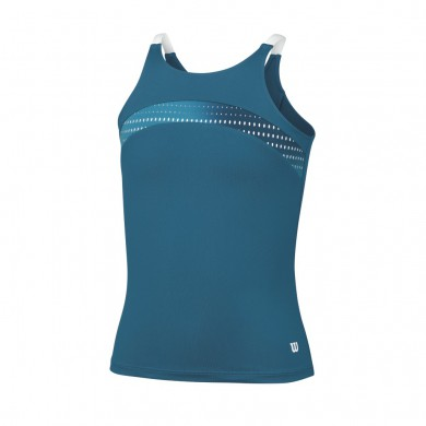 Wilson Tank Summer Color Flight 2015 ultramarine Girls (Größe 128)