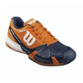 Wilson Rush Pro 2.0 Clay 2016 orange/blau Tennisschuhe Herren