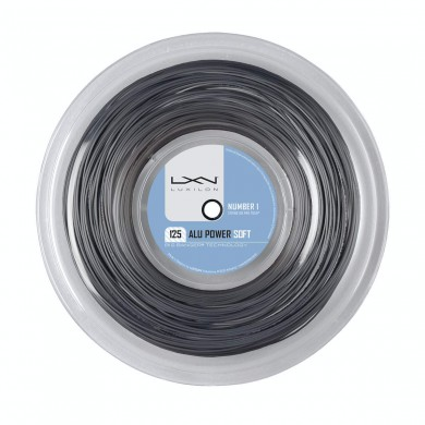 Luxilon Alu Power Soft 1.25 silber 200 Meter Rolle