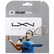 Luxilon Pro Shot Rough 1.15 blau Squashsaite