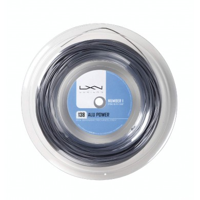 Luxilon Alu Power 1.38 silber 200 Meter Rolle