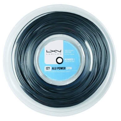 Luxilon Alu Power Spin 1.27 silber 220 Meter Rolle