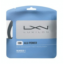 Luxilon Alu Power 1.38 silber Tennissaite