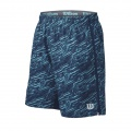 Wilson Short Fall Print 8 2016 navy Herren