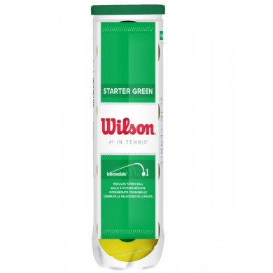 Wilson Stage 1 Starter Play Green Methodikb�lle 4er