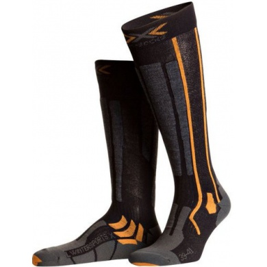 X-Socks Skisocke Wintersport X schwarz/orange Herren