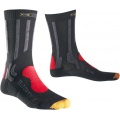 X-Socks Trekkingsocke Light Comfort charcoal/red Herren (Gr��e 45-47)