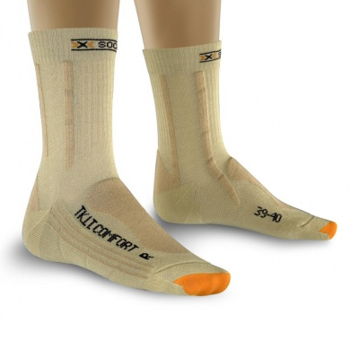 X-Socks Trekkingsocke Light Comfort beige Damen