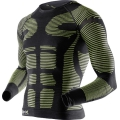 X-Bionic Precuperation Shirt Long Sleeves gelb/schwarz Herren