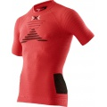 X-Bionic Running Effektor Power Shirt Short Sleeve 2016 rot Herren