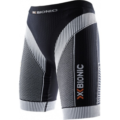 X-Bionic Running Effektor Power Pant Short 2016 schwarz/weiss Damen