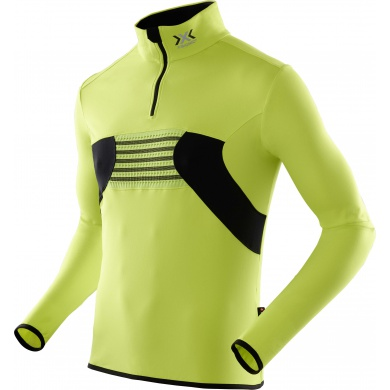 X-Bionic Ski Racoon Zip Up lime Herren