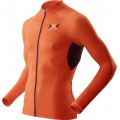 X-Bionic Bike The Trick Longsleeve Full Zip orange Herren